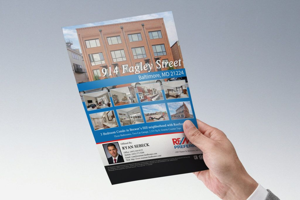 Custom Real Estate Listing Flyer