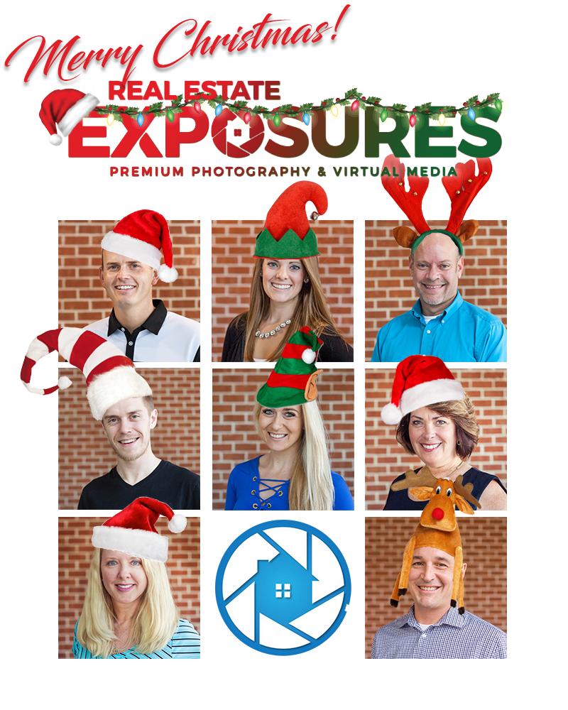 chirstmas team photo real estate exposures