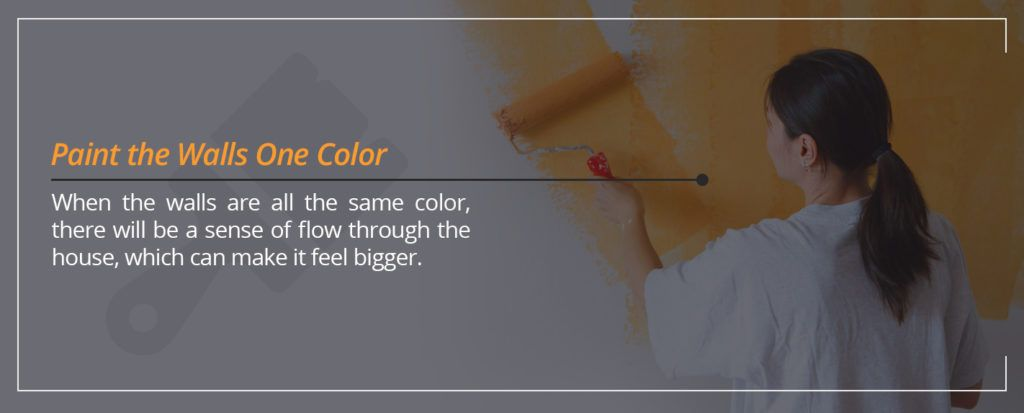 Paint the Walls One Color