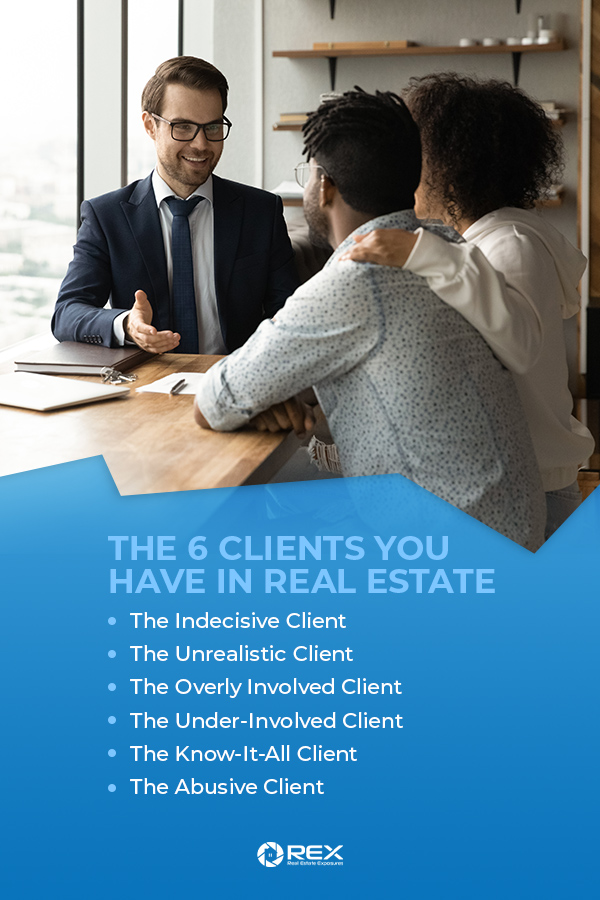 the 6 clients you have in real estate guide graphic
