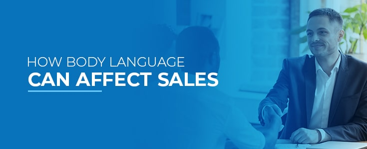 how body language can affect sales